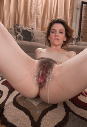 Pics of cum on hairy pussy