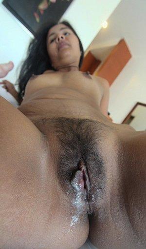 Cum on hairy pussy pics