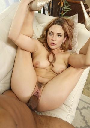Hot tattooed Dahlia Sky gets herself a mouth && pussy full of big ebony cock