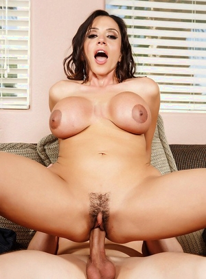 Powerful long boner gives Latina MILF Ariella Ferrera a deep pounding