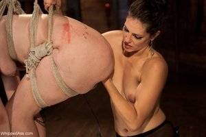 Flogged Ass Alice Frost, Bobbi Starr