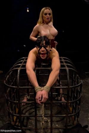 Flogged Ass Aiden Starr, Bobbi Starr