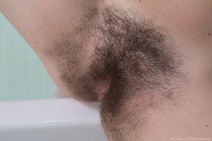 Hairy in bath - 14