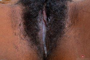 Hairy black pussy - 9