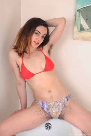 Spread hairy pussy asshole pic - 3