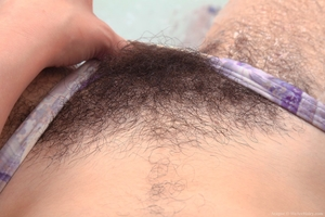 Spread hairy pussy asshole pic - 4
