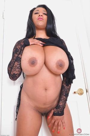 Hairy black pussy pics and big masive tits - 5