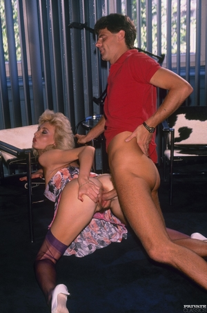 Vintage big tits and hairy pussy photos - 5