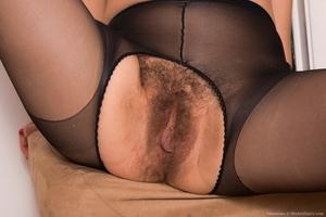 Pantyhose hairy - 12