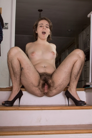 Hairy women black legs and pussy - 15