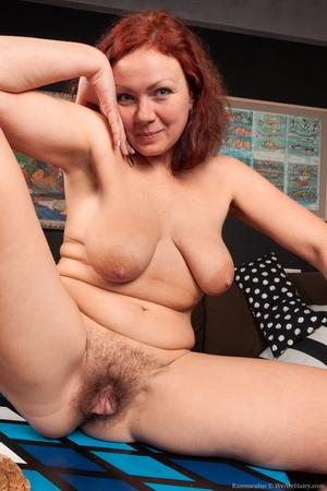 Hairy mature women - 14