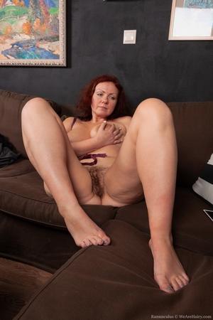 Hairy mature women - 5