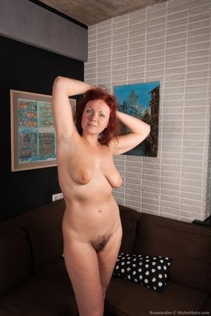 Hairy mature women - 6