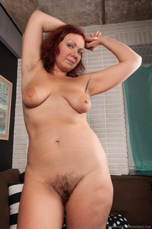 Hairy mature women - 7