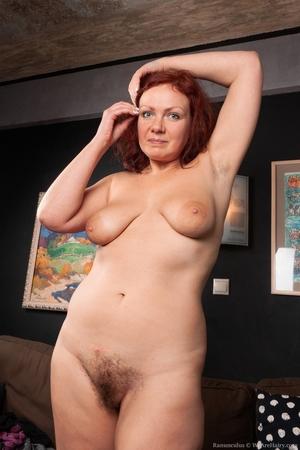 Hairy mature women - 10