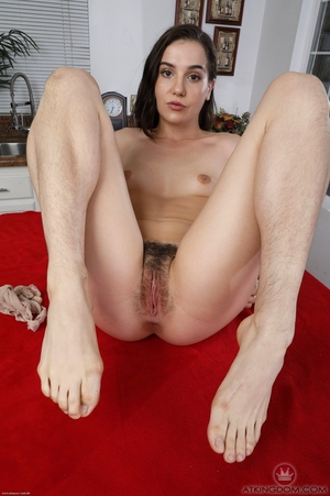 Young hairy labia - 8
