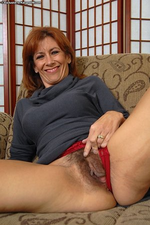 Mature hairy pussy - 1