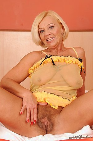 Hairy pussy old - 9