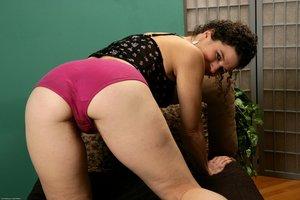 Very hairy pussy pics panties thong - 3
